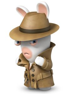 Inspecteur Lapin Cartoon Characters, Little Monsters, 3 Minions, Doodle, Rabbit, Polymer Clay, Character Design, Bunny, Rabbits