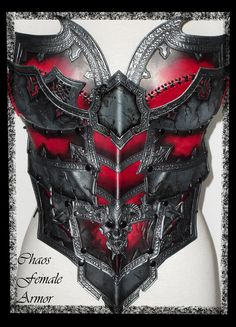 Chaos female armor torso front view by ~Deakath on deviantART