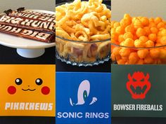 Super Smash Bros Party Snacks