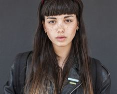 Emily Bador (Short Bangs)