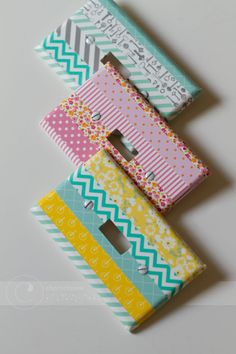 tinkerwiththis: Craftilicious: Washi tape   projects and inspiration