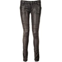 Diesel Black Gold Perge Low Rise Skinny Jeans ($335) ❤ liked on Polyvore featuring jeans, pants, black, skinny biker jeans, low rise jeans, low rise skinny jeans, shiny skinny jeans and denim skinny jeans