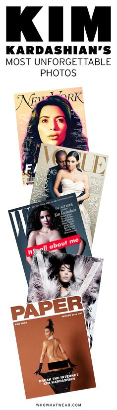Kim Kardashian's best magazine covers ever