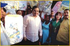 Partido Quisqueyano Demócrata (PQDC) dona canastillas a mujeres embarazadas