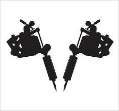 Pics For Tattoo Machine Logo Vector