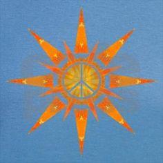 Solar Peace - Rapture Men's V-Neck T-Shirt