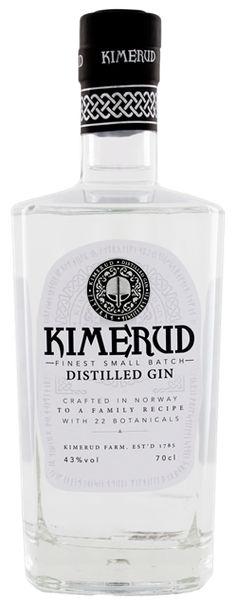 Kimerud Norway Craft Distilled Gin online kopen in Nederland en Belgie