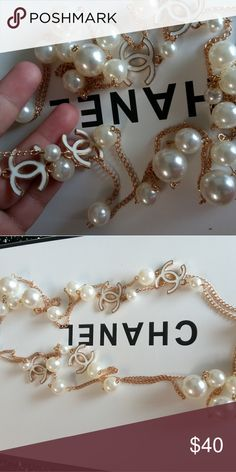 Chanel necklace Beautiful piece Price reflects!  Thanks chanel Makeup