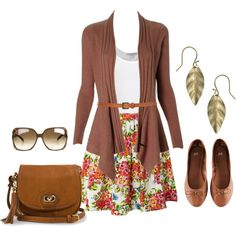 """Summer -> Fall Outfit"" by natihasi on Polyvore"