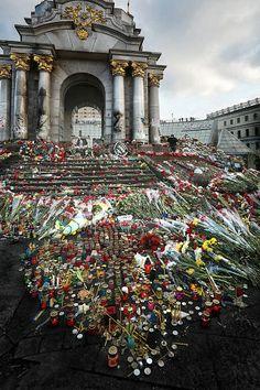 Евромайдан 24 февраля 2014 года. Владимир Филиппов