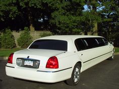 10 Passenger Lincoln - Holds max of 8 adults