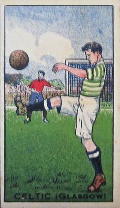 Celtic card from the 1910s.