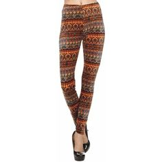 Brown Multicolor Boho Print Velour Leggings ($23) ❤ liked on Polyvore featuring pants, leggings, footless tights, leg wear, print pants, velour leggings, patterned leggings, colorful print leggings and brown pants