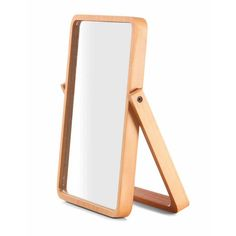 Mirror with Pinewood Frame | Kmart