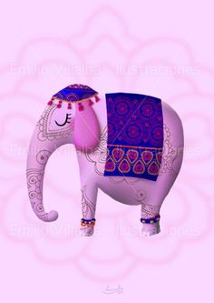 such a sweet fanciful elephant