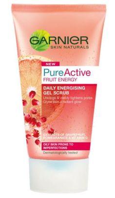 Garnier Pure Active Fruit Energy Gel Scrub