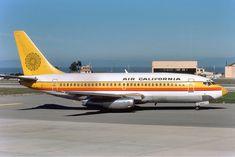 Air California Boeing 737-200 (c) Richard Silagi collection