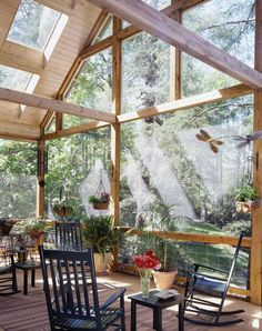 Garden room? Sun room? Reading room? Woods privacy. Minus this furniture.