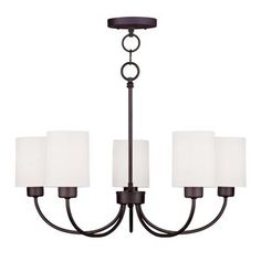 Sussex 5-Light Shaded Chandelier