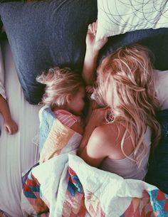 Dormir agarradinho e sem preocupação com a hora!