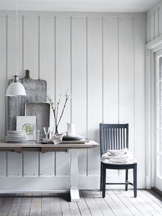 Neptune Harrogate Painted Dining Chair, Fog