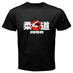 b3622455d4d Details about New Judo Grapling Martial Arts Logo MMA Mens Black T-Shirt  Size S M L XL 2XL 3XL