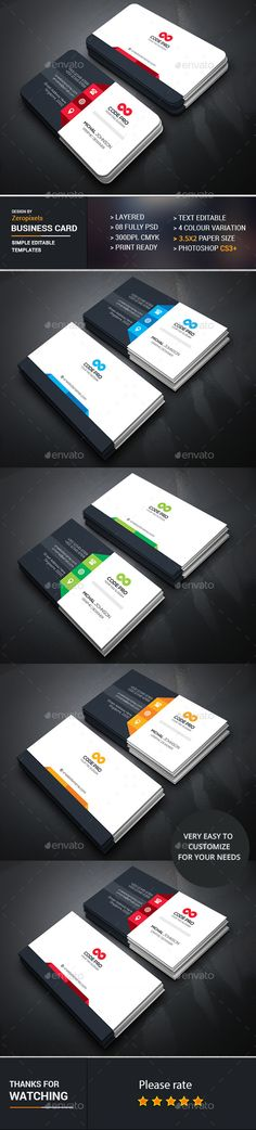 Business Card Template PSD Download Here Graphicriver