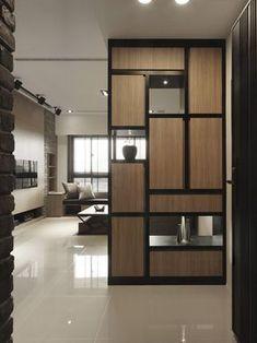 專業室內設計公司,提供空間設計、舊屋翻新、室內設計規劃等服務。以生活為主軸的空間設計,創造生活空間設計美學。橙白室內設計公司服務項目包含了室內設計、空間設計、辦公空間設計規劃, 詳情請洽橙白室內設計裝修工程有限公司,給您專業室內空間設計。為您有限的空間,創造無限生命力。 Living Room Partition Design, Living Room Tv Unit Designs, Room Partition Designs, Living Room Windows, Entrance Design, Hall Design, Room Interior, Home Interior Design, Wooden Partitions