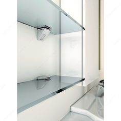 Find the largest offer in Decorative Glass Shelf Supports like Kalabrone Mini Glass Wall Shelf Support at Richelieu.com, the one stop shop for woodworking industry.