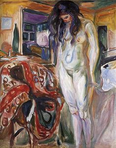Edvard Munch Model By The Wicker Chair Oil Painting Reproductions for sale Woman Painting, Figure Painting, Painting & Drawing, Life Drawing, Edward Munch, Amedeo Modigliani, Post Impressionism, Impressionist, Oil Painting Reproductions