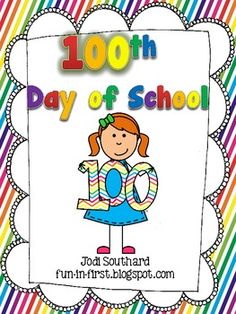This packet is perfect for the 100th Day of School.  It includes activities that will keep your students busy with a variety of activities while using the number 100.