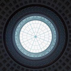 ceiling window by Henrik Jordan