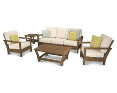 Harbour 5 Piece Deep Seating Group with Cushion