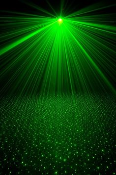 Green light rays