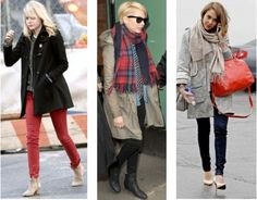 Celebrity Street Style of the Week: Emma Stone, Michelle Williams ...