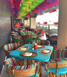 As you go into the restaurant, you would observe a great deal of warm colors that produce the entire space look very inviting and cozy. The restaurant wanted to have a logo design that could evoke the sensation of romance. Mexican Restaurant Design, Mexican Interior Design, Mexican Designs, Restaurant Interior Design, Mexican Bar, Decoration Restaurant, Mexican Home Decor, Outdoor Restaurant, Dark Interiors