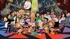 Die 68 Besten Bilder Von Phineas Und Ferb Caricatures Phineas