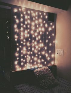 "How about putting the lights in the ceiling as well? Create a shiny night! ""Shine ya light"""