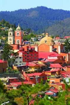 Real del Monte, Mexico. We went here on our Mexico trip! The most beautiful place I have ever seen!