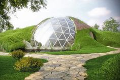 Biodome - Spherical House Of The Future