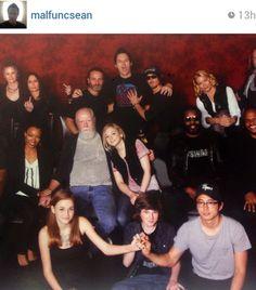 The Walking Dead Cast (& Sean) @ Walker Stalker Con