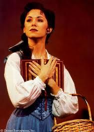 Susan Egan as Belle in Beauty and the Beast on Broadway. she's a beast! Theatre Nerds, Musical Theatre, Broadway Nyc, Broadway Shows, Susan Egan, Belle Beauty And The Beast, Tale As Old As Time, Queen, Les Miserables