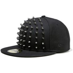 354a78351ba MUSIUM DIV. x New Era Studded Cap Collection ❤ liked on Polyvore Snapback  Hats