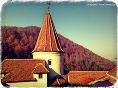 View from Bran Castle Travel Shoes, Dracula, Romania, Castle, Tower, Europe, Building, Rook, Computer Case