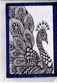 56 Ideas For Tattoo Mandala Design Zentangle Art Drawings Sketches Simple, Bird Drawings, Pencil Art Drawings, Tattoo Sketches, Black Pen Sketches, Black Pen Drawing, Drawing Ideas, Doodle Art Drawing, Mandala Drawing