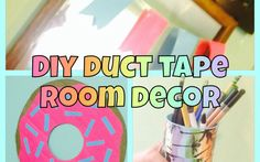 DIY Easy Duct Tape Room Decor