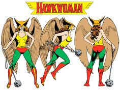 Hawkwoman by José Luis García-López from the 1982 DC Comics Style Guide