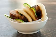 Momofuku Pork Buns - Anything Momofuku is good, but its hard for them to top their famous pork buns.