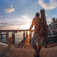 @leoeymard came all the way from #Brazil to enjoy a #KeyWest #sunset on this…