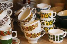 retro revival arcopal cups